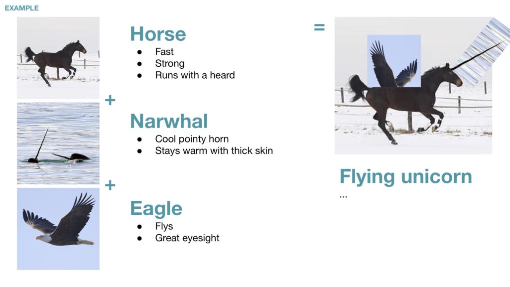 example magic team slide